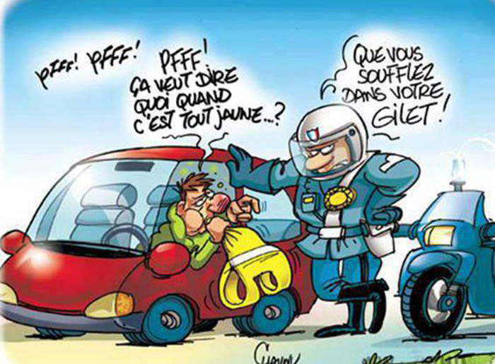 Contr le routier afunnymoment - Dessin 2cv humour ...