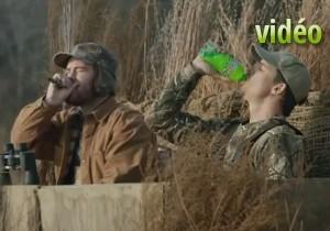 Une partie de chasse aux canards