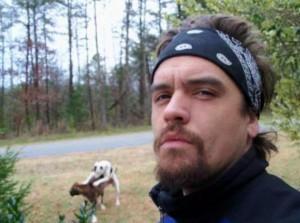 Selfie avec les chiens