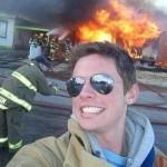 Selfie pompier