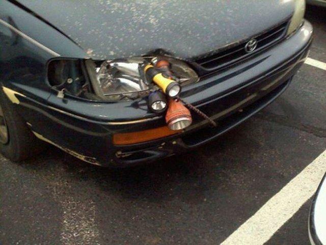 réparation de phare