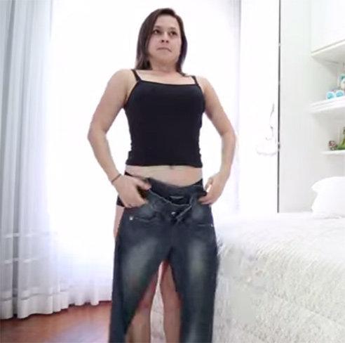 Mettre un jean's
