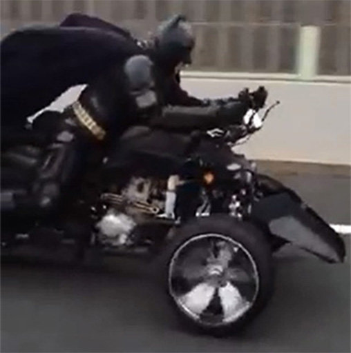 Batman en moto