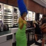 Marge Simpson, en vrai !
