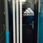 Un fan d'Adidas