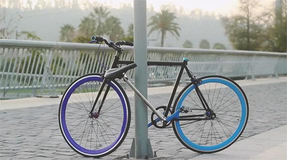 Vélo anti-vol
