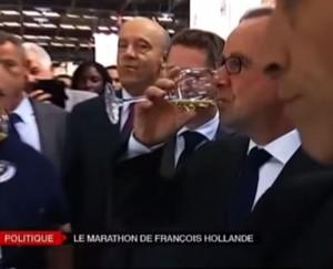 François-Hollande-aime-le-vin